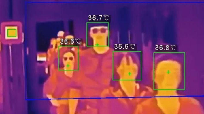 Sanidad controlará con cámaras termográficas la temperatura de los pasajeros en los aeropuertos