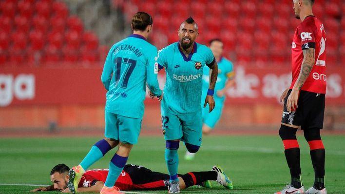 El Mallorca no logra parar al Barça y cae por 0-4