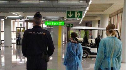 Más de un millar de pasajeros han sido sometidos a cuarentena en Palma en los últimos 15 días