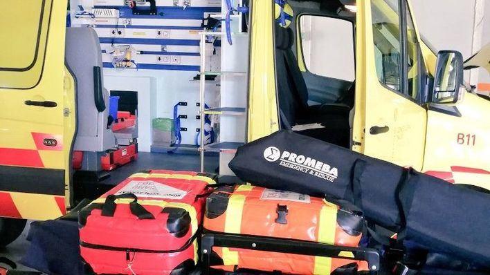 Un paciente ebrio agrede en Palma a una técnico de emergencias