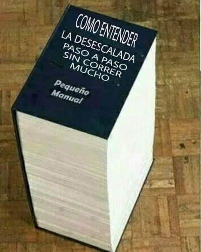 El libro gordo de la desescalada