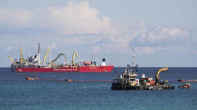 Ya funciona el cable eléctrico submarino entre Mallorca y Menorca