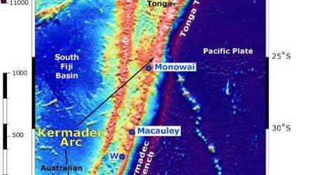 Un terremoto con una magnitud de 7,1 sacude una zona deshabitada de Nueva Zelanda
