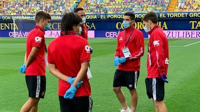 El Mallorca recupera ante el Leganés a Dani Rodríguez, pero pierde a Raíllo