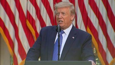 Trump vuelve a la carga: acusa a China de querer desestabilizar la economía con el coronavirus