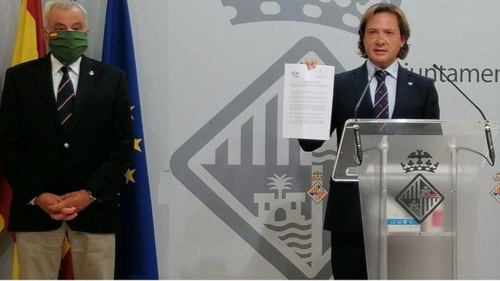 Vox lleva al Parlament, Consell y ayuntamientos una declaración de apoyo a la visita de los Reyes en verano