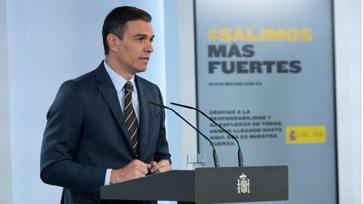 Pedro Sánchez hará una declaración institucional con motivo del fin del estado de alarma