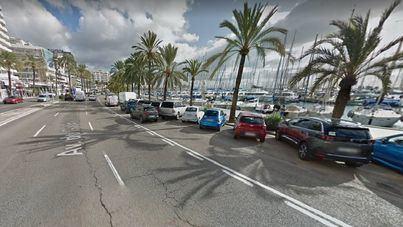 Suprimen de forma definitiva un carril del Paseo Marítimo de Palma