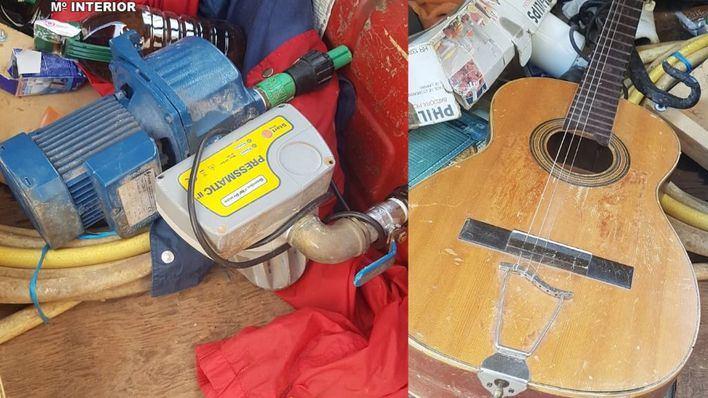 Un accidente de tráfico propicia la detención de los autores de varios robos en viviendas de Llucmajor