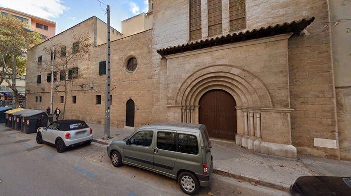 Parroquia de Sant Sebastiá donde ejercía actualmente Gaspar Alemany