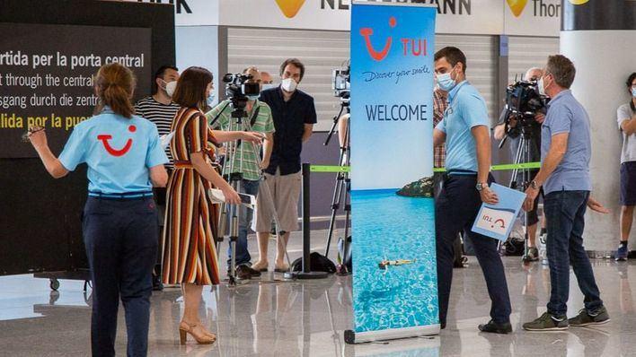 TUI comenzará a enviar turistas británicos a Mallorca a partir del 11 de julio