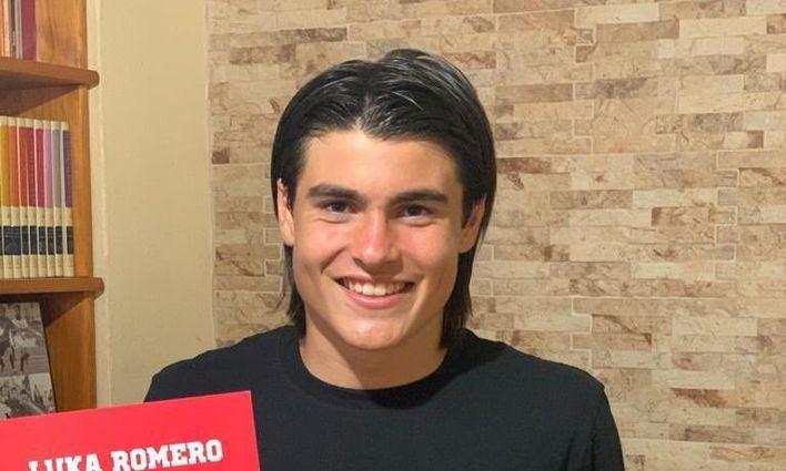 """Luka Romero: """"Ha sido un momento increíble"""""""