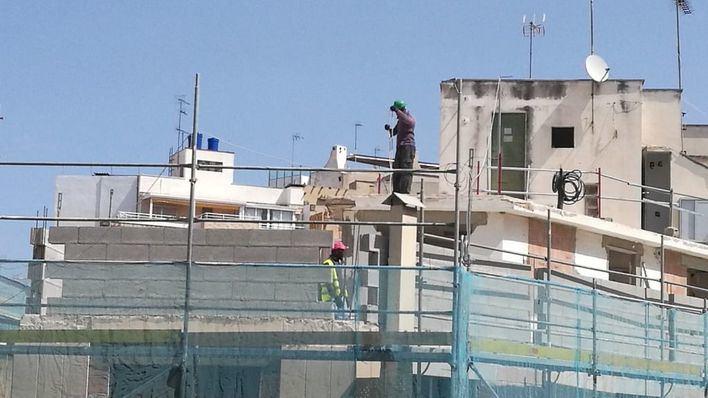 La construcción crece en Baleares por debajo de la media: 3.384 contratos en mayo