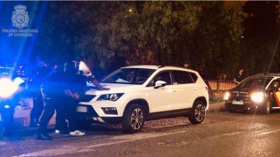 Interceptado con cocaína en un control de la calle Manacor