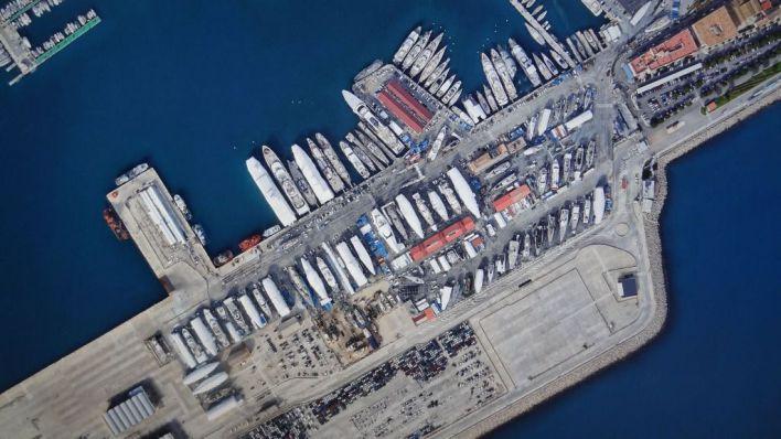 El club de vela Puerto de Andratx en contra de la industrialización del Moll Vell