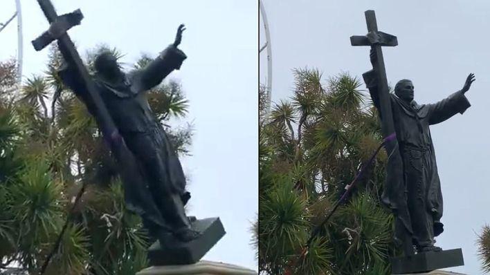 'La ira contra las estatuas en EE.UU no es hispanofobia sino desconocimiento'