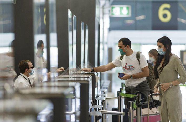 Los aeropuertos de Baleares operan este miércoles 303 vuelos