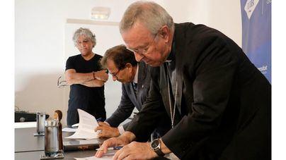 Bisbat y UIB unen sus fuerzas para producir un largometraje sobre Ramon Llull