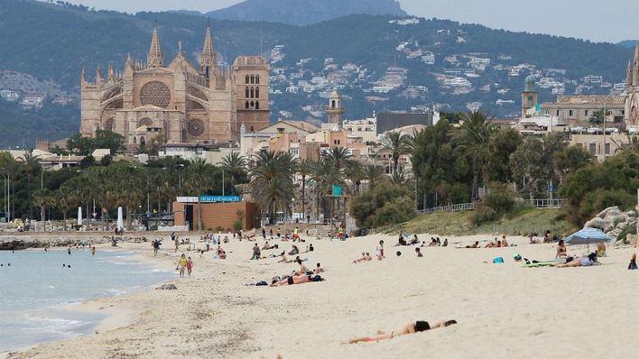 Temperaturas de hasta 35 grados en Baleares