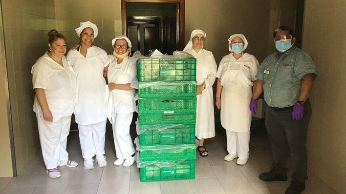 Mercadona donará alimentos cada día a las Hermanitas de los Pobres de Palma