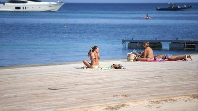 Descenso de temperaturas en Baleares con máximas de 30 grados