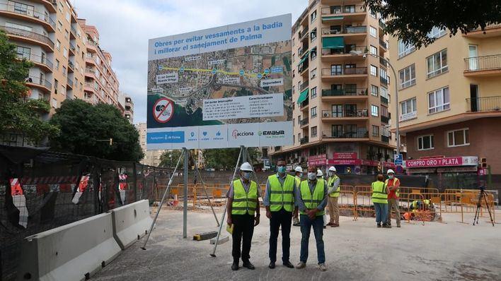 El nuevo colector de Palma reducirá un 90 por ciento la contaminación de los vertidos