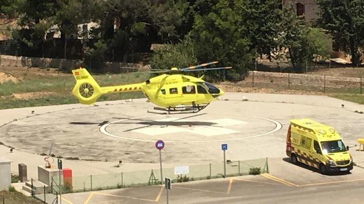 Un hombre en estado crítico tras caer desde 10 metros en Ibiza