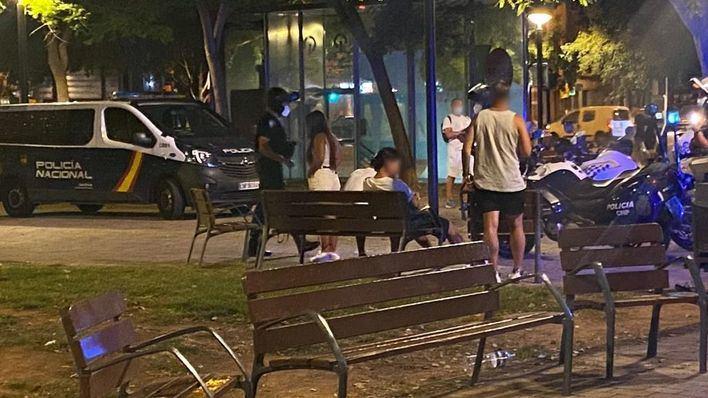 La policía levanta 143 actas en Palma por botellones y no llevar mascarilla