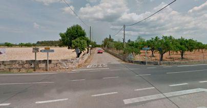 Muere un vecino de Biniali en una colisión entre una moto y una furgoneta