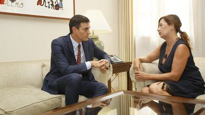 Armengol niega un 'ninguneo' del Gobierno de Sánchez a Baleares