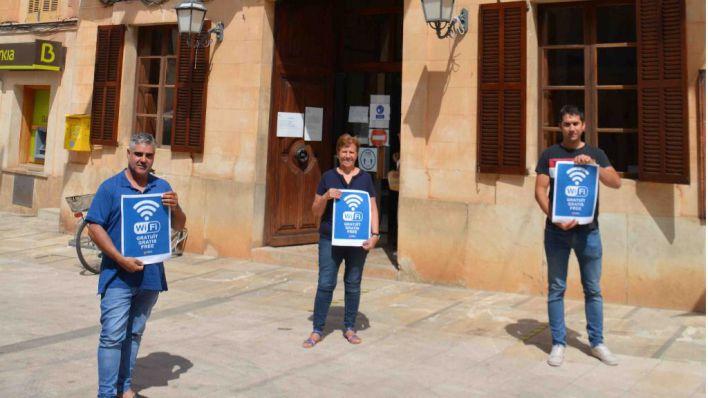 Santanyí instala Wi-Fi gratuito en diferentes espacios públicos del municipio