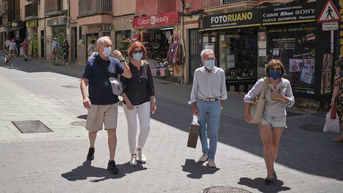 La mascarilla será obligatoria en Baleares a partir de este fin de semana
