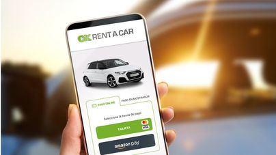 OK Rent a Car ofrece pagar las reservas de alquiler de coches a través de Amazon Pay