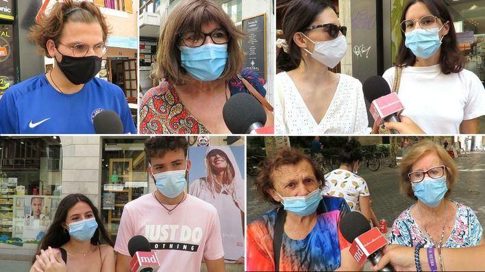 Mascarillas y aglomeraciones, la preocupación de los ciudadanos