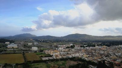 Nubes, descenso de temperaturas y probabilidad de lluvia en Baleares