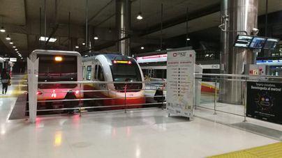 El metro de Palma pierde nueve de cada diez pasajeros