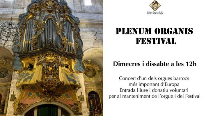 Vuelven los conciertos de órgano en la Parroquia de Santanyí