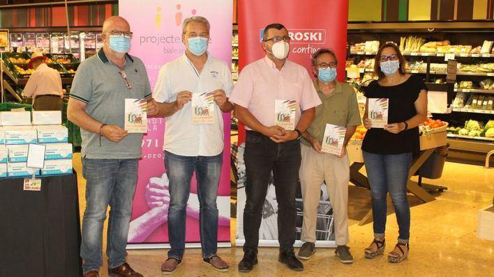 Eroski y Proyecto Hombre presentan la campaña solidaria 'Amb tu, la vida agafa color'