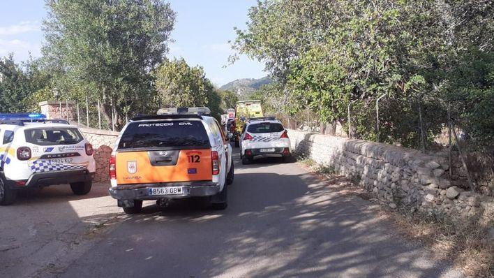 Rescatan a una mujer que se había caído a un pozo en una zona rural de Llucmajor