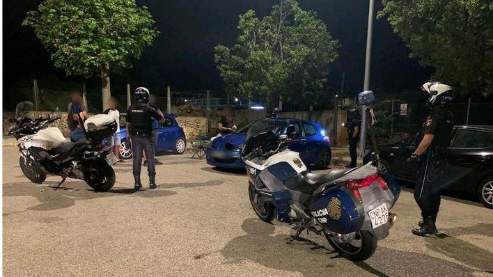 La policía levanta en Palma 97 actas por botellón en la madrugada del sábado