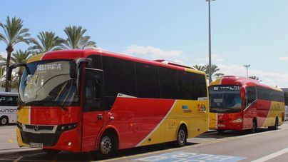 Modificación de horarios de los autobuses interurbanos del TIB