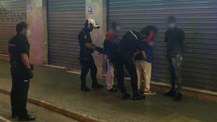 Detenidos 3 dominicanos tras usar bates de béisbol durante una pelea en Palma