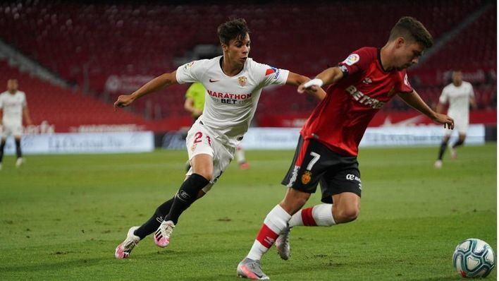 El Mallorca se hunde en Sevilla