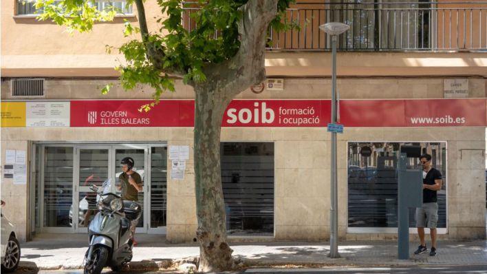 El paro se dispara en Palma un 75 por ciento en junio respecto a 2019