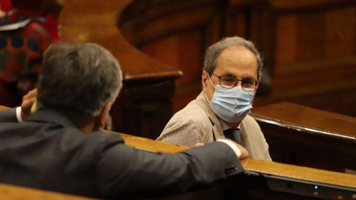 Torra desafía de nuevo a la Justicia y anuncia que confinará Lleida por decreto