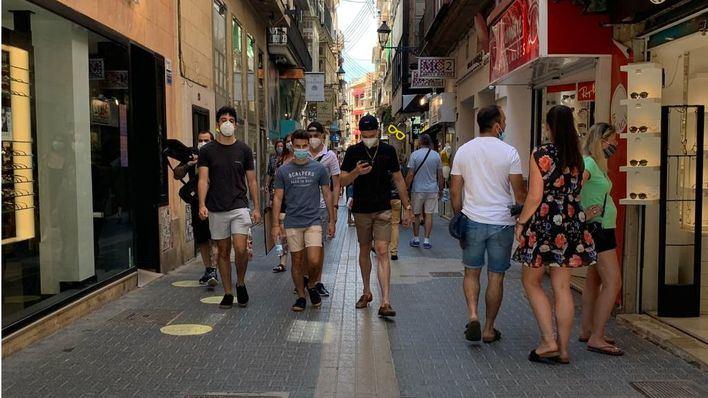 La mascarilla es obligatoria desde hoy en Baleares