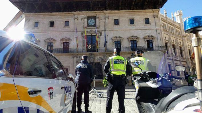 Avería temporal en el 092 de la Policía Local de Palma: los ciudadanos deben utilizar el 112