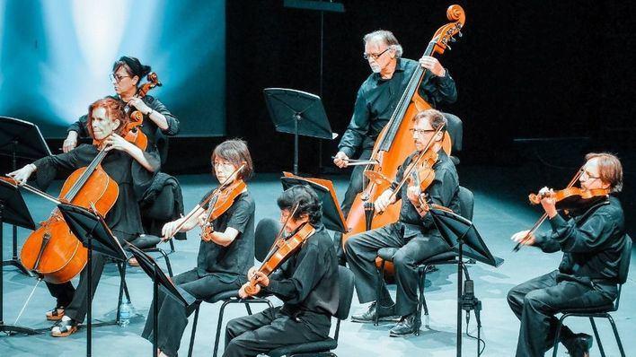 La Sinfónica actúa en Cala Figuera, el Castell de Bellver y la Cartoixa de Valldemossa