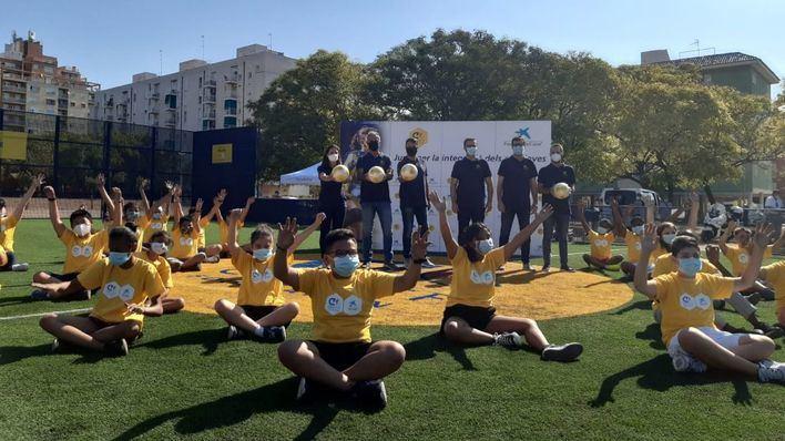 Palma inaugura el 'Cruyff Court' para promover el deporte como vía de inclusión social