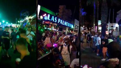 Masivo despliegue policial en Palma para evitar botellones y fiestas multitudinarias